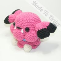 Snubbull by Heartstringcrochet