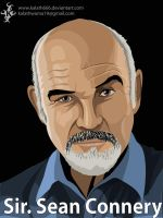 Sir sean Connery by kalath666
