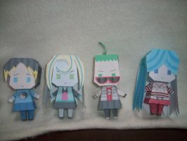PaperCrafts:MonsterHighGroup02 by KPenDragon