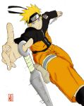 Naruto -colored- by DeeCue