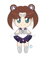 Sailor Silver Star Chibi by NikkoTakishima