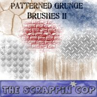 Patterned Grunge Brushes2 by debh945