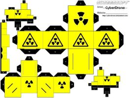 Cubee - Radiation by CyberDrone