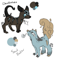 AnimeTitled inspired adopts by alinoravanity