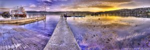 Knysna harbour pano HDR II by TheSoftCollision