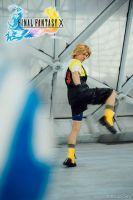 Tidus cosplay, Shot Jecht! by Alexcloudsquall