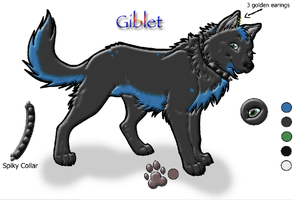 Gibblet ref sheet-wc commish by Zera24