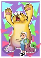 Adventure Time by hberbert