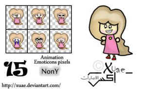 NonY animation emoticons by xuae