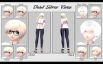 [MMD Update] Self Model ~ by o-DeadSilverVirus-o
