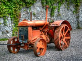 Fordson Tractor by MisterKrababbel