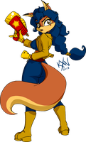HYLD 7 - Carmelita Fox by kevinxnelms