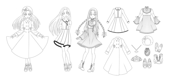 MIRIAM: Character Reference Sheet: Miriam by nelly2793