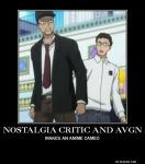 Nostalgia Critic And The Angry Video Game Nerd by AlphaMoxley95