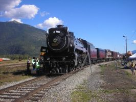 CPR 2816 Hudson Steam Engine by Tyler3967