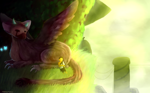 A Nice Nap~The Last Guardian by Madistar2001