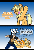 Dys. Equestria: Applejack Shines! by AniRichie-Art