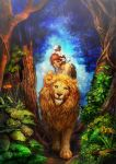 walk a lion by umedama
