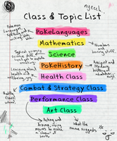 Classes List for Entity High by WhatTheFoxBecca
