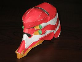 Evangelion 02 Head by Degalus
