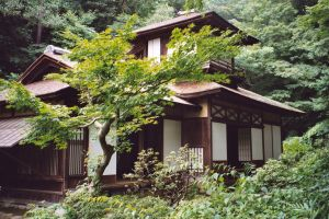 Japanese historical home by silentsketcher