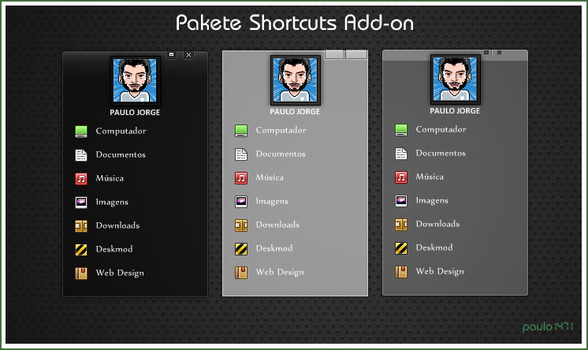Pakete Shortcuts Add-on by Paulo1471