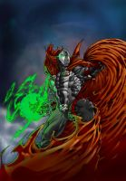 Spawn, now in color by MasterPitzy