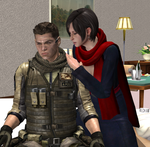 Gift: RESIDENT EVIL - Come with Me by REFanBoy2012