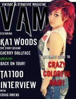 my magazine cover for graphics class by KatieKat16