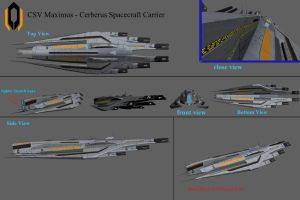 CSV Maximus - Cerberus Carrier Concept by reis1989