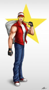 Terry Bogard by RaPour