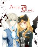 Angel and Devil by aiki-ame