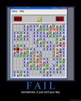 Minesweeper fail by FlashMan16