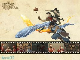 The Legend of Korra Wallpaper (3) by Howie62