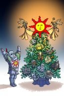 Dark Souls XMas - 2014 by jdeberge