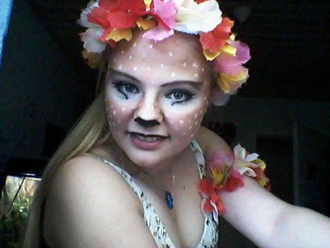 Faun make up test 2 by Heart-Berry