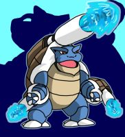 Megablastoise by ObsidianWolf7