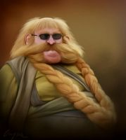 Bombur the Fierce by Aegileif
