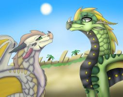 And How Did YOU Happen? Collab by Sahel-SandWing