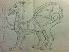Welsh Dragon by Jetrelie