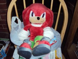 Knuckles Plush 4 by DazzyDrawingN2