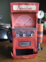 tf2 dispenser papercraft by e-nuts