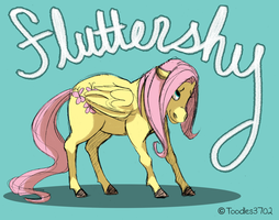 Fluttershy by Toodles3702