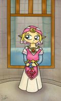 OoT, young Zelda by Jrynkows