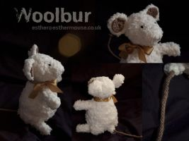 Woolbur The Mouse by esther-rose-mouse