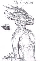 An Argonian? by Neffertity