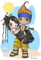 Wakka and Lulu by Saganu