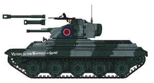 [ALC] Anelace Mk.I Light Tank by AdmiralSerenity