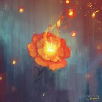 Flare Flower by Sephiroth-Art