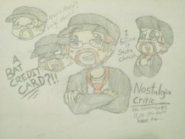 Nostalgia Critic by Lu-WeeGee